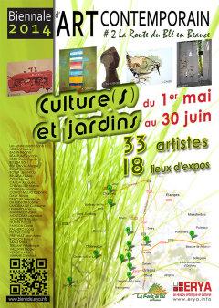 Biennale d'art contemporain 2014 - Affiche