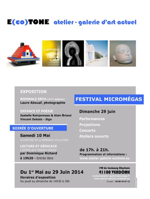 Festival Microméga 2014 - Affiche