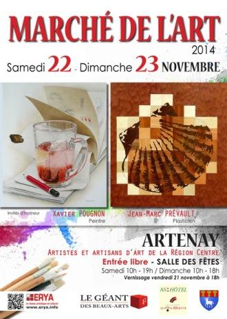 Marché de l'art du 22 au 23 novembre 2014