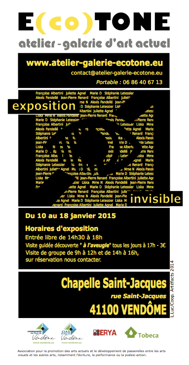 Exposition invisible 2015 A3