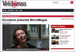 Présentation E(co)TONE sur le Petit Vendomois TV